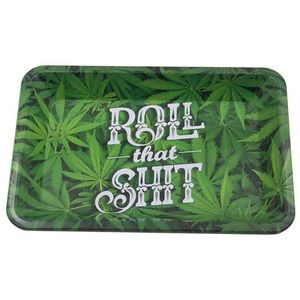 Metal Rolling Tray Large 7.5 x 11.3in